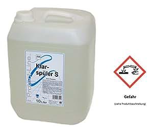 Protect transparente para inodoro S Line para uso lavavajillas 10 l bidón