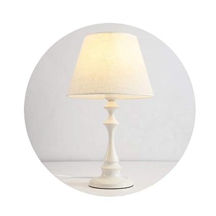 ALOUS Lámpara de Mesa LED lámpara de Mesa de cabecera Simple ...