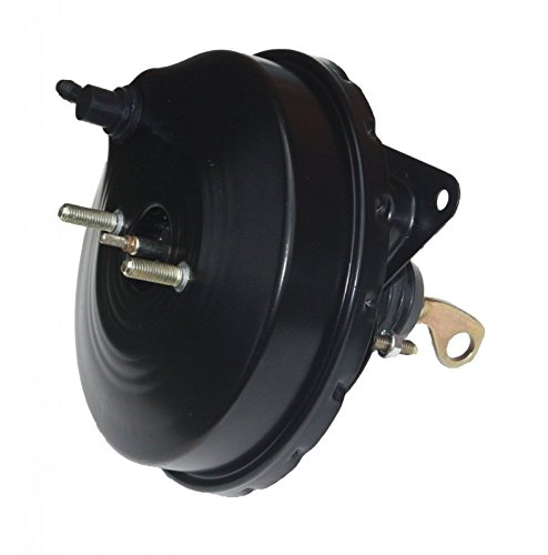 Black GPS Automotive 3-9 in power brake booster with bracket