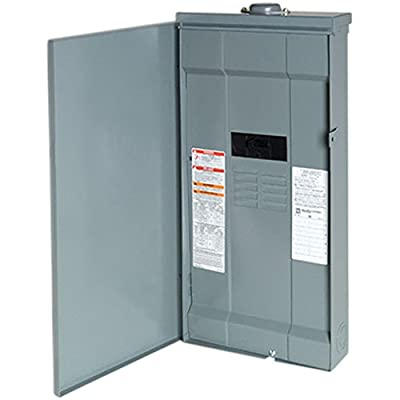 Square D by Schneider Electric QO1816M150FTRB QO 150 Amp 8-Space 16-Circuit Outdoor Main Breaker Load Center with Feed-Thru Lug, ,