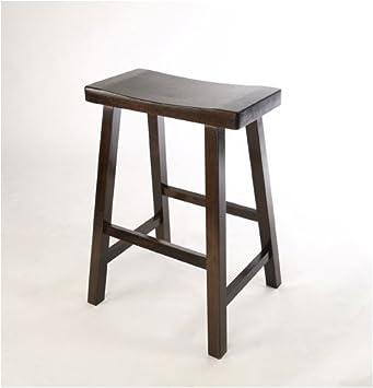 Sensational Amazon Com Great American Barstools Ss18 18 Espresso Machost Co Dining Chair Design Ideas Machostcouk