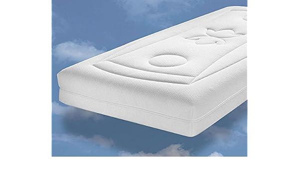 Malie Colchón de látex Natural Pure Green, 7 Zonas Núcleo con ventilación Horizontal y Micromodal Doble Funda: Amazon.es: Hogar