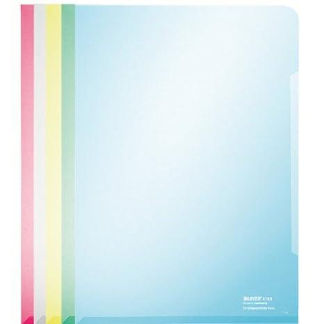 gr/ün dokumentenecht Leitz Sichth/ülle Super Premium A4 PVC