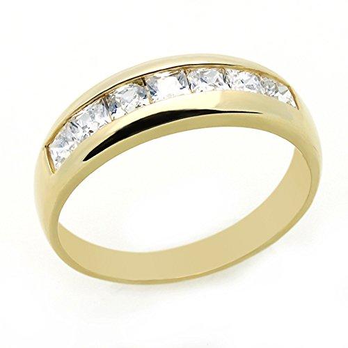 14K Yellow Gold Wedding Ring P
