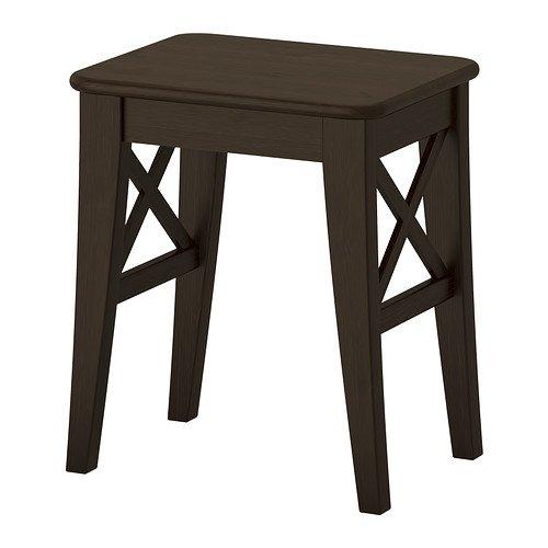IKEA INGOLF - Taburete, marron-n