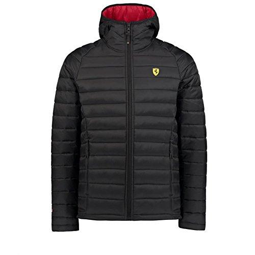96d548a32b70f Scuderia Ferrari Formula 1 Men's Black Padded Jacket at Amazon Men's ...