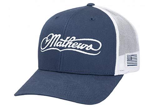 Mathews Archery USA Cap Blue/White