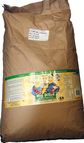 Microbe lift Big Bites Summer Staple Fish Food 40 lbs by Microbe Lift