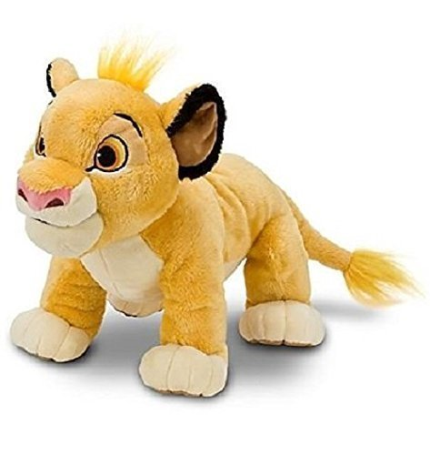 New Adorable Plush (Hard to Find Disney Lion King Adorable Baby Cub Simba 13 Inch Plush Doll Standing On All Fours - Super Cuddly and Soft - New with Tags)