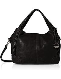 Slouchy Woven Handle Bag