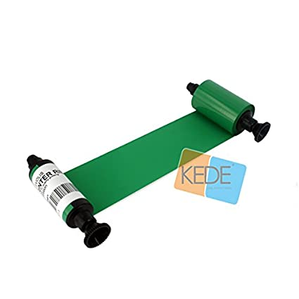 R2014 Verde Cinta 1000 tarjetas compatible para Evolis Pebble ...