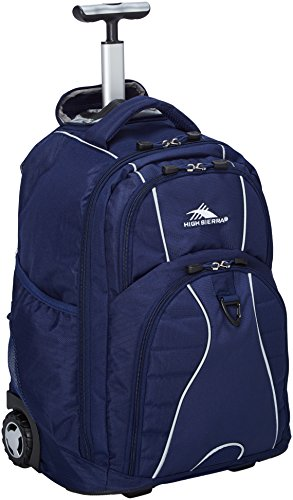 High Sierra Freewheel Wheeled Laptop Backpack, True Navy by High Sierra