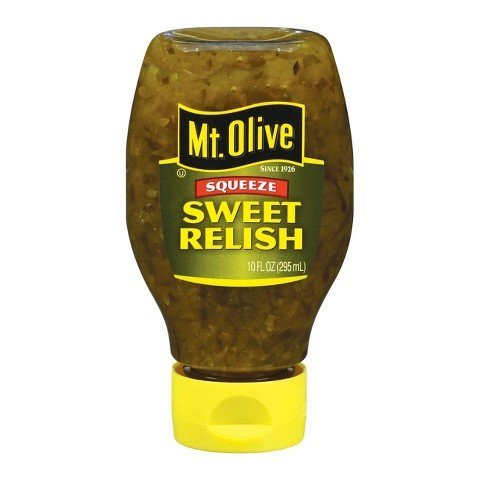 Mt. Olive Sweet Relish Squeeze Bottle 10 oz TRG