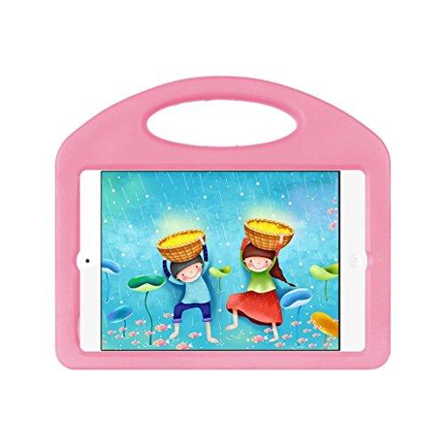 Hülle Case Cover für Apple iPad Mini7.9inch Hunpta Kinder Shockproof EVA-Handgriff Standplatz Fall Abdeckung für Apple iPad Mini7.9inch Rosa ck3pUXvkub