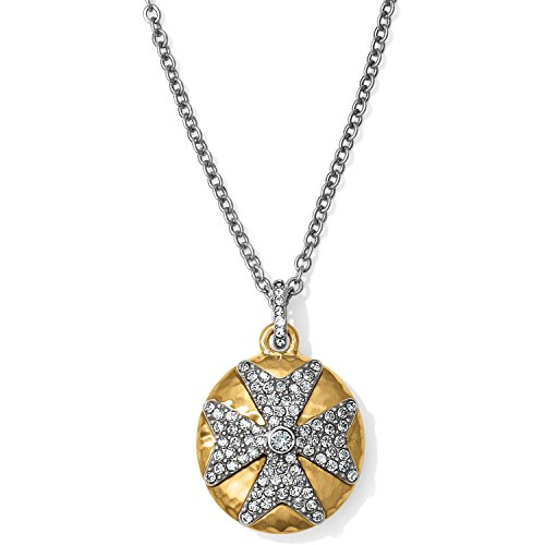 - Brighton Anatolia Infinity Reversible Cross Necklace
