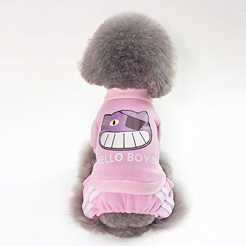 E Pink Inverno color Home In A S Zampe Pink Size Autunno Maglione Qinch Quattro fqO0Rww
