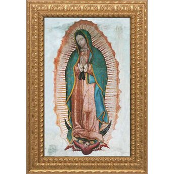 Our Lady of Guadalupe Size: 40 x 60 NWC-306-op006 B01696TC48  Size: 40 x 60