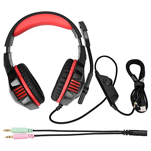 Ciglow Headset Gaming Wired Headset 3.5mm for Computer Game Gaming Player ()