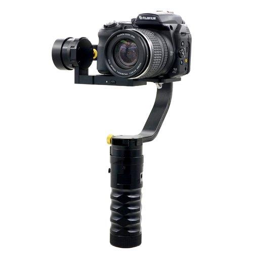 Profesional 3ejes Gimbal Estabilizador de cámara de vídeo DSLR capacidad de carga 1.8kg