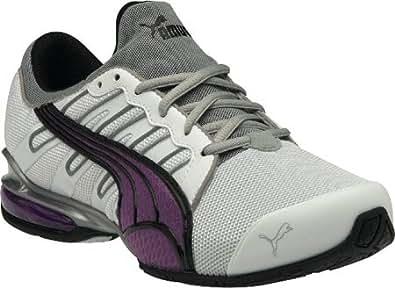 Puma - Womens Voltaic 3 Nm Shoes, Size: 12 B(M) US, Color: Black-Dewberry-Dark