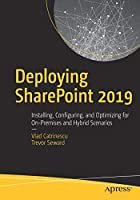 Deploying SharePoint 2019 Front Cover