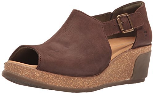 N5003 Brown Women's Leaves Naturalista Mule El xqg18Htw