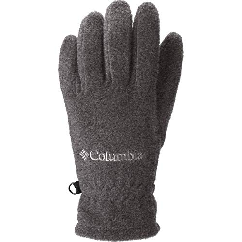 Trek Charcoal (Columbia Boys Youth Fast Trek Glove, Charcoal Heather, Medium)