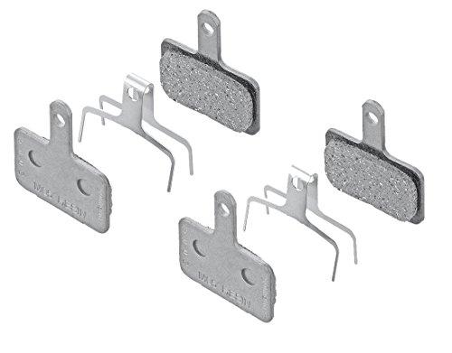 2 Pairs of Shimano Disc Brake Pads M05 (Resin) include Spring by SHIMANO Brake Pads