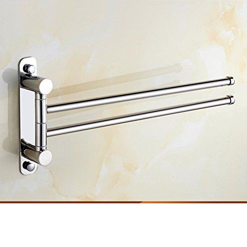 85%OFF Stainless steel bathroom towel bar activities/Rotating hook towel rack/Bathroom Accessories-A