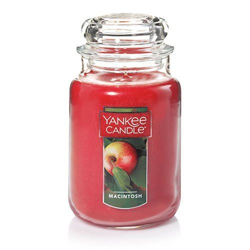 Jar Paraffin Wax Candle - Yankee Candle Large Jar Candle|Macintosh Scented Candle|Premium Paraffin Grade Candle Wax with up to 150 Hour Burn Time