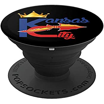 172631ebc66 Chiefs Kingdom KC Royalty Hometown Hybrid Black Phone Mount - PopSockets  Grip and Stand for Phones and Tablets