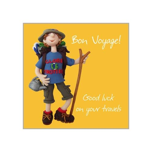Bon voyage card amazon holy mackerel greeting card good luck on your travels bon voyage for m4hsunfo
