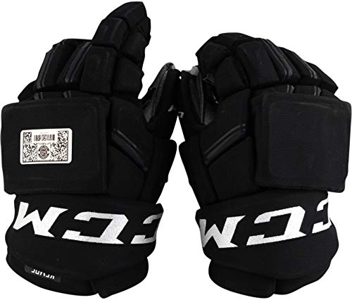 Adrian Kempe Los Angeles Kings Game-Used #9 Black CCM Gloves from the 2017-18 NHL Season - Fanatics Authentic Certified