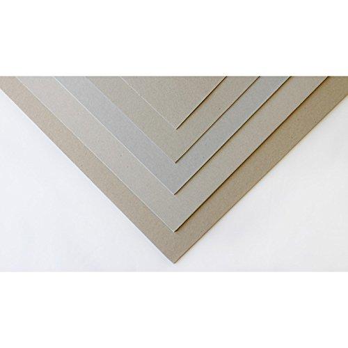 L/Éclat de Verre Carton Gris 1 mm 60 x 80 cm