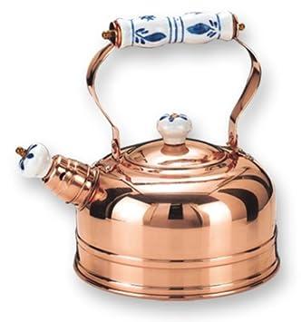 9 Old Dutch Copper-Plated Pedestal Colander