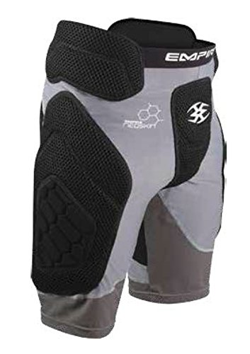 - Empire Paintball Neoskin Slider Shorts - Black/Grey - Youth