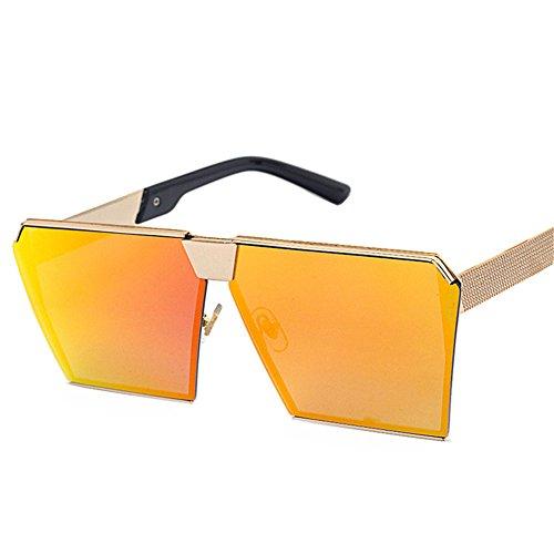 Womens de Light polarizadas oro Caminante DESESHENME gafas de de Última Mens bastidor conducción Reflejo metálico moda sol Ultra 0T5qqW7R