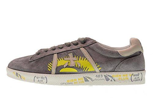 PREMIATA Schuhe Mann Niedrige Turnschuhe Andy 3101 Grey