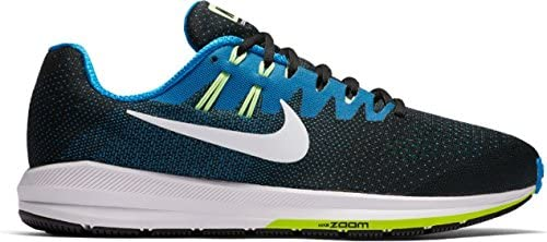 Nike Men s Air Zoom Structure 20 Extra Wide Black Photo Blue Ghost Green White