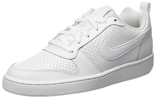 Uomo 111 Low Basket Borough Court white Bianco Nike Scarpe Da vYBBqw