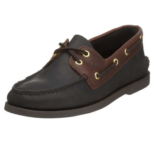 2 W 5 O Top Sperry Amaretto US Boat 11 Uomo A Nero Sider Eye Shoe waqqXTp4