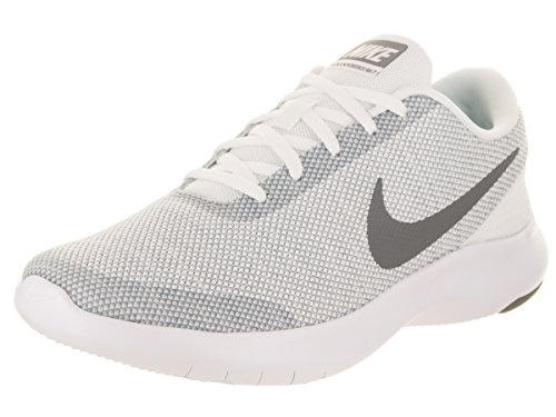 NIKE Women's Flex Experience Run 7 Shoe, White/Cool Grey/Wolf Grey