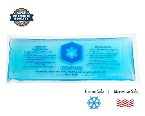 4x10 Gel Pack Reusable Hot Packs Microwavable Ice Cold
