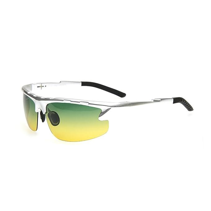 Día y noche gafas de colores/Gafas polarizadas/gafas de sol de los hombres