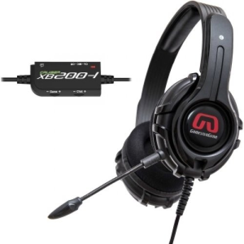 SYBA GamesterGear Cruiser XB200 Headset / Stereo - Black - RCAc USB - Wired - 32 Ohm - 20 Hz - 20 kHz - Over-the-head - Binaural - Circumaural - 15.70 ft Cable / OG-AUD63082 /