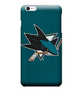 Diy Best Case iphone 6 4.7 case cover, - San Jose Sharks Distressed - iphone 6 4.7 case cover - High Quality PC case cover eLG7zcq1hw9