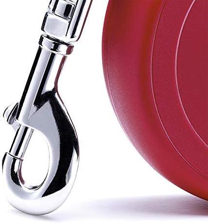 Flexi New Classic Laisse avec Sangle pour Chien Rouge 5 m Taille S