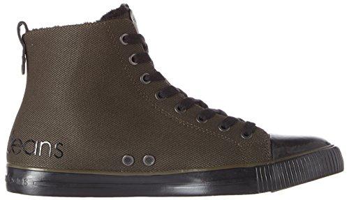 Herren Braun Sneaker Twill Schwarz Cargo Klein Aron Calvin Waxy Fur S8wxaHFFq