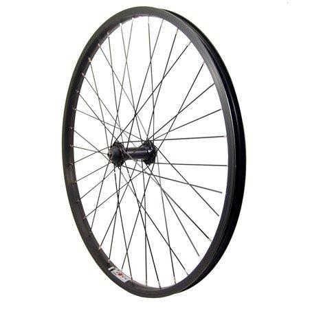 Sta Tru Front QR 36 Wheel, Black, 24 x 1.5/1.75''