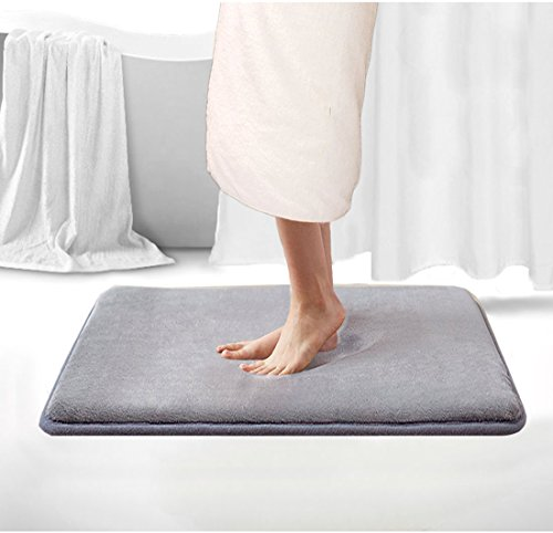 Memory Foam Bath Mat Non Slip Shower Rugs with Soft Comforta
